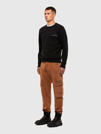 Diesel - S-CORINNE, Black - Sweaters - Image 4