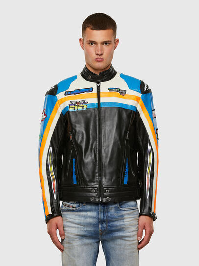 Diesel - ASTARS-LPATCH-1A-B,  - Leather jackets - Image 1
