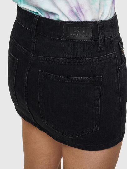 Diesel - DE-EISY, Black - Skirts - Image 5