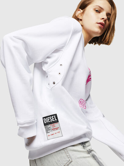 Diesel - F-LYANY-E, White - Sweaters - Image 4