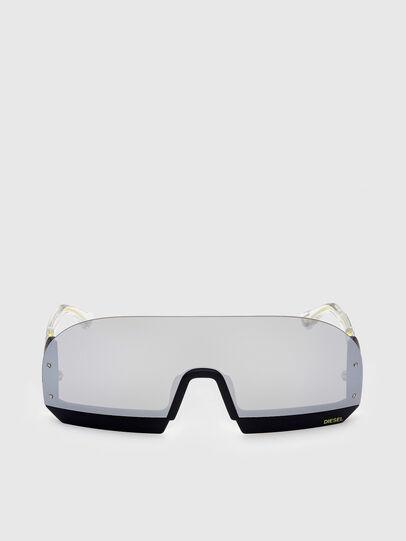 Diesel - DL0336, White - Sunglasses - Image 1
