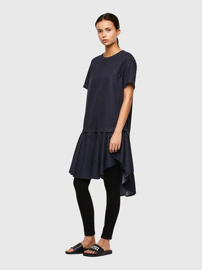 Diesel - DE-JOLLIE, Medium blue - Dresses - Image 5