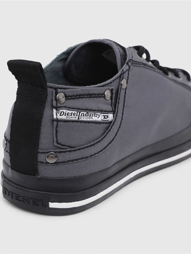 Diesel - EXPOSURE LOW I, Dark grey - Sneakers - Image 4