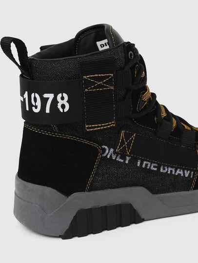 Diesel - S-RUA MID SP, Black - Sneakers - Image 5