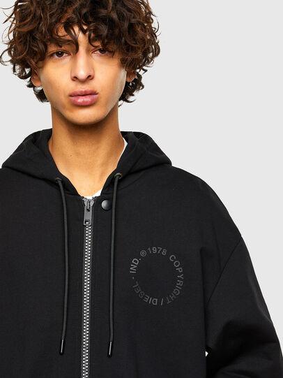 Diesel - S-KAPPAT, Black - Sweaters - Image 3