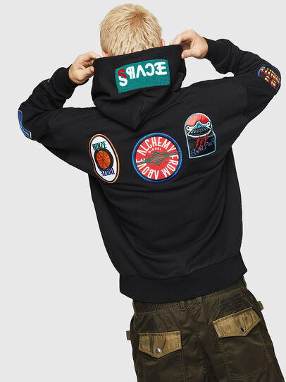 Diesel - S-ALBY-PATCHES, Black - Sweaters - Image 2