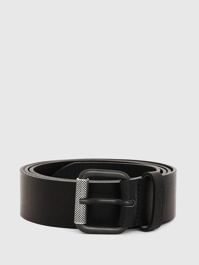 Diesel - B-PLATE, Black - Belts - Image 1