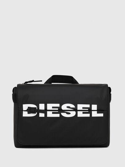 Diesel - F-BOLD MESSENGER II, Black - Crossbody Bags - Image 1