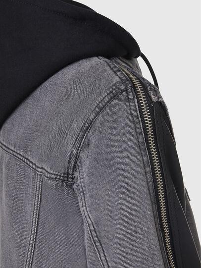 Diesel - L-IVAN,  - Leather jackets - Image 5