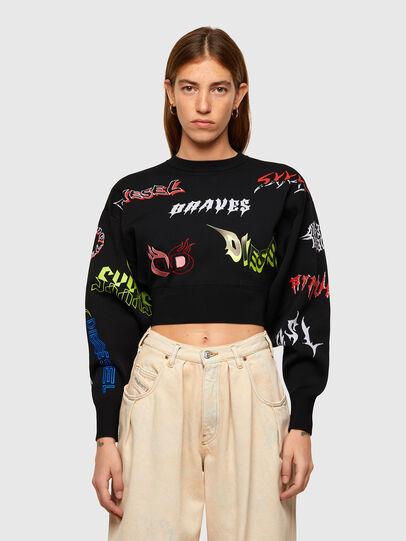 Diesel - M-MALI, Black - Knitwear - Image 1
