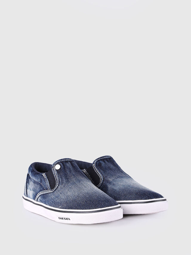 SLIP ON 21 DENIM CH, Blue jeans
