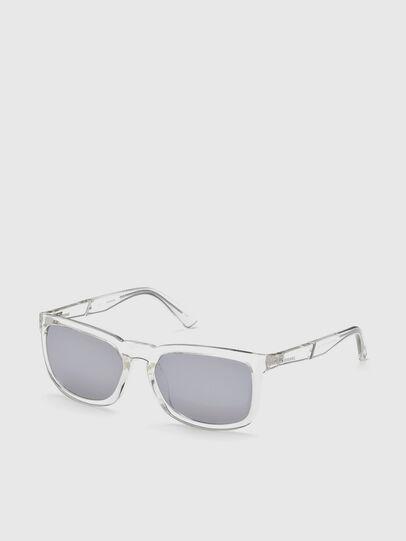 Diesel - DL0262, White - Sunglasses - Image 2