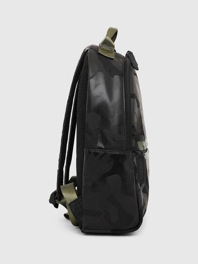 Diesel - BOLD BACKPACK, Black/Green - Bags - Image 3