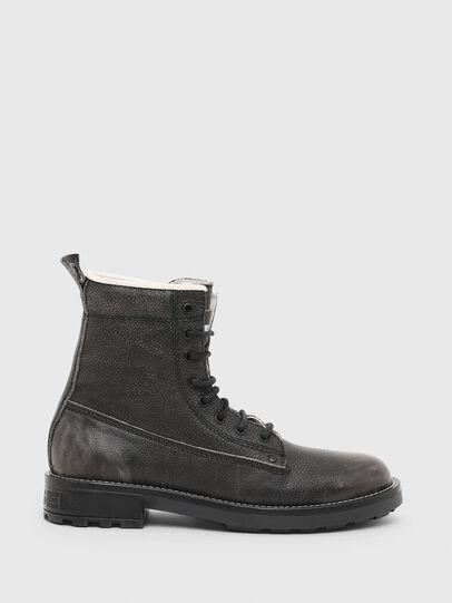 Diesel - D-THROUPER DBB W, Dark grey - Ankle Boots - Image 1