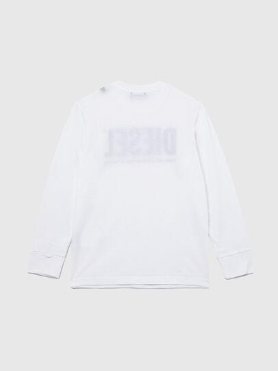 Diesel - TJUSTLOGO ML, White - T-shirts and Tops - Image 2