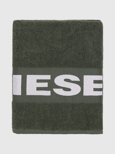 Diesel - TELO SPORT LOGO   10, Green - Bath - Image 1