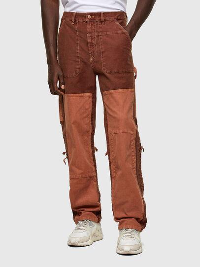 Diesel - D-Franky JoggJeans® 0DDAW, Brown - Jeans - Image 1