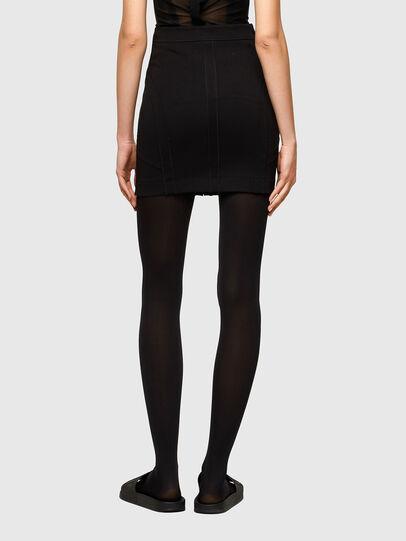 Diesel - O-STRIT, Black - Skirts - Image 2