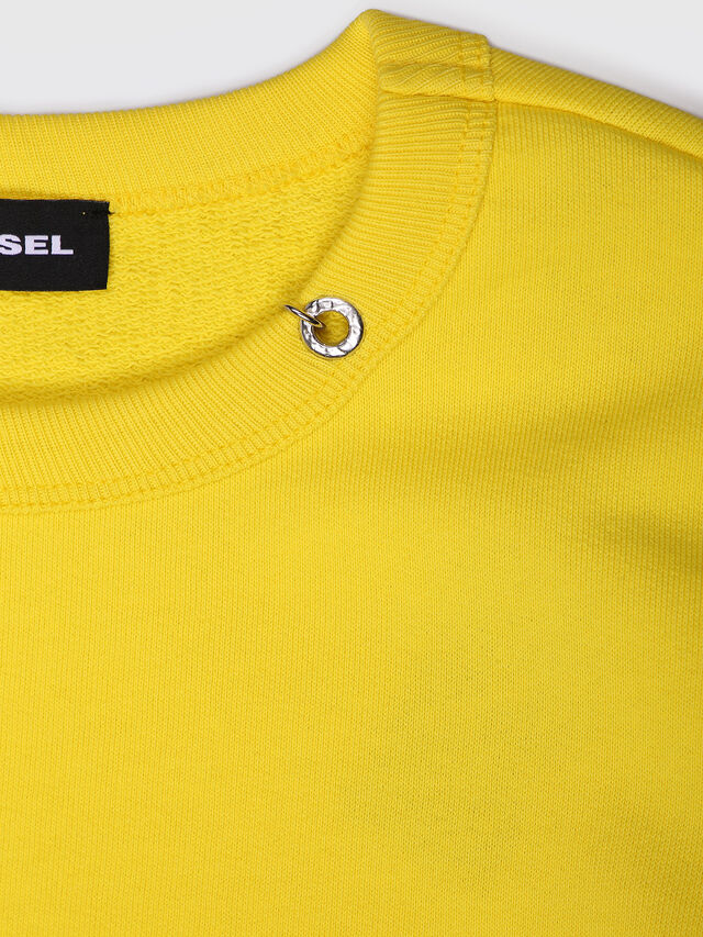 Diesel - SITRO, Yellow - Sweaters - Image 3