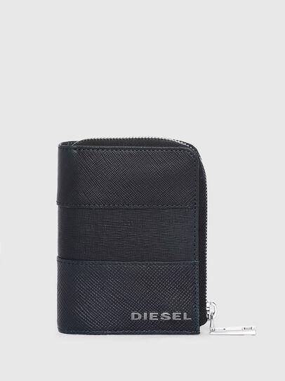 Diesel - L-12 ZIP, Blue - Zip-Round Wallets - Image 1