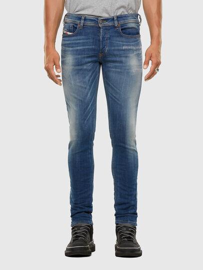 Diesel - Sleenker 009FC, Medium blue - Jeans - Image 1