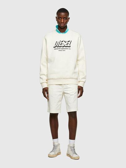 Diesel - P-HATY, White - Shorts - Image 4