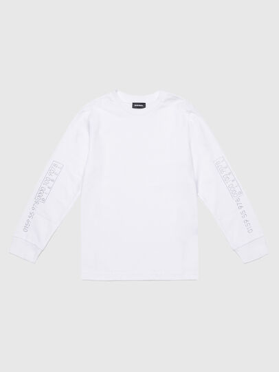 Diesel - TVARYS, White - T-shirts and Tops - Image 1