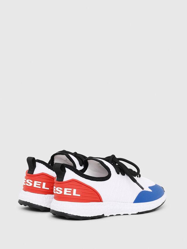 Diesel - SN LOW 10 S-K YO, White/Red/Blu - Footwear - Image 3