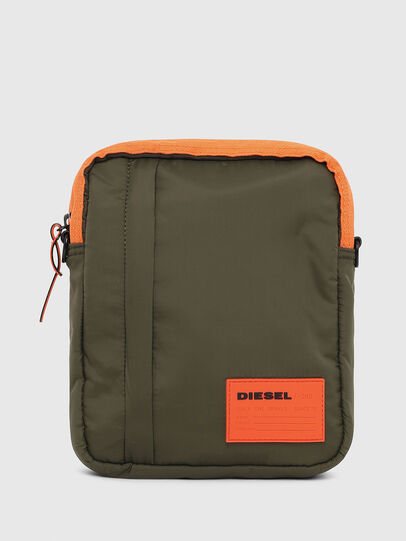 Diesel - ODERZO, Dark Green - Crossbody Bags - Image 1