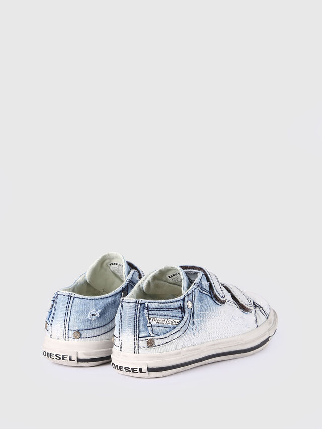 KIDS SN LOW STRAP 11 DENI, Light Blue - Footwear - Image 3