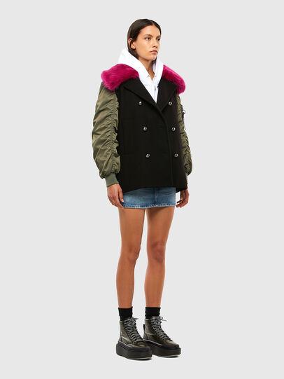 Diesel - W-AMARAL, Black - Winter Jackets - Image 6
