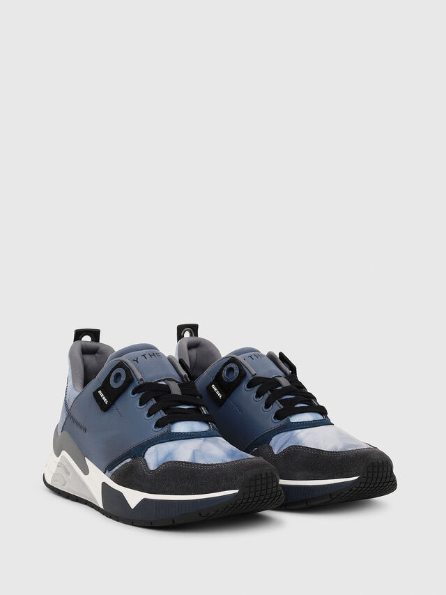 Diesel - S-BRENTHA LC, Blue - Sneakers - Image 2