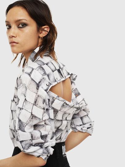Diesel - C-SUNNY, White - Shirts - Image 4