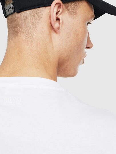 Diesel - T-JUST-T23, White - T-Shirts - Image 3