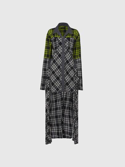 Diesel - D-NIAVY, Black/White - Dresses - Image 5
