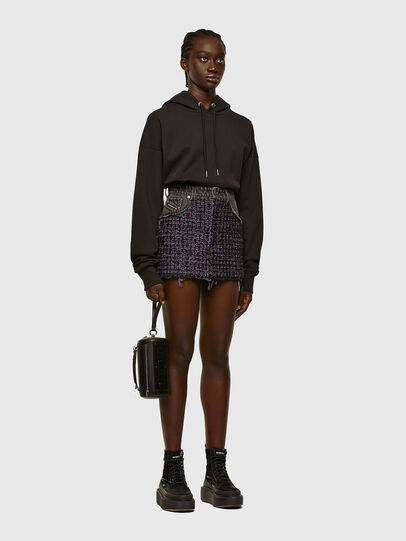 Diesel - O-SAN, Violet/Black - Skirts - Image 6