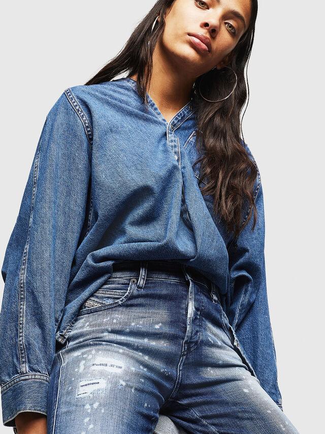 Diesel - Babhila 0091Y, Medium blue - Jeans - Image 3