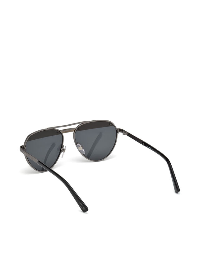 Diesel - DL0261, Black/Grey - Sunglasses - Image 4