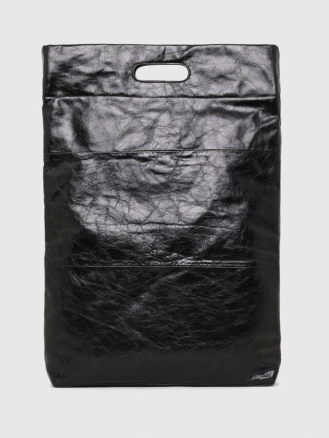 Diesel - F-LITT SHOPPER N/S, Black - Shopping and Shoulder Bags - Image 2