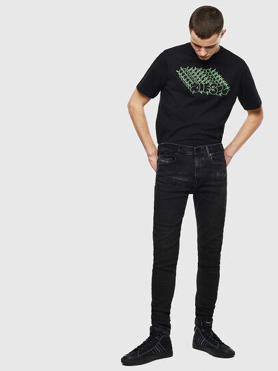 Diesel - T-JUST-T20, Black - T-Shirts - Image 4