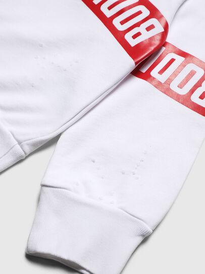 Diesel - SBAYHOLES OVER, White/Red - Sweaters - Image 4