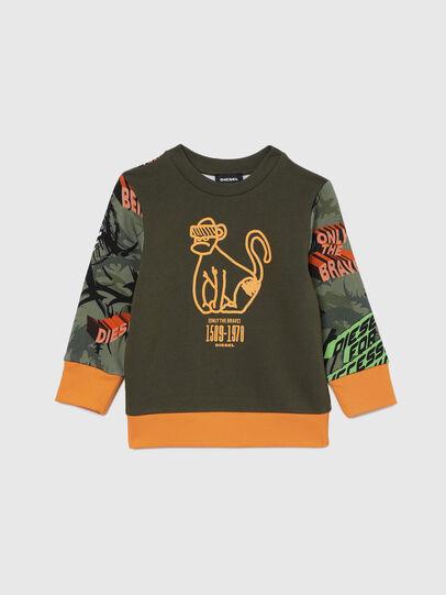 Diesel - SANDYB-R, Military Green - Sweaters - Image 1
