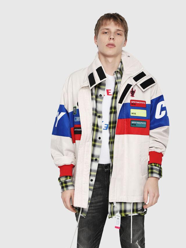 Diesel - J-AZUMA, Multicolor/White - Jackets - Image 5
