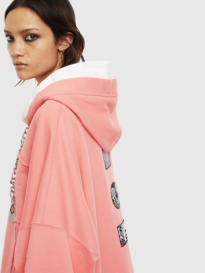 Diesel - F-BAILEY, Pink - Sweaters - Image 5