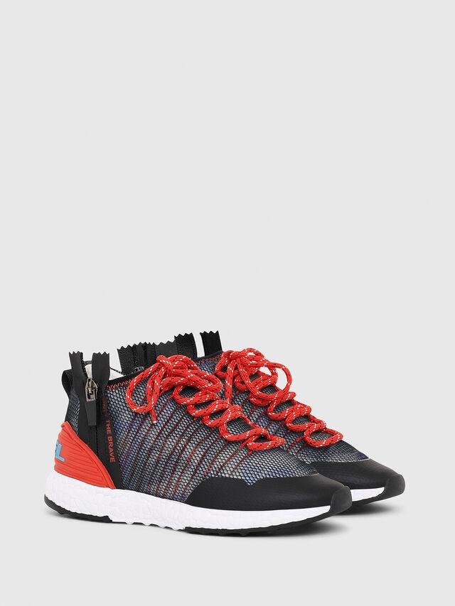 Diesel - SN MID 11 S-K CH, Blue/Red - Footwear - Image 2