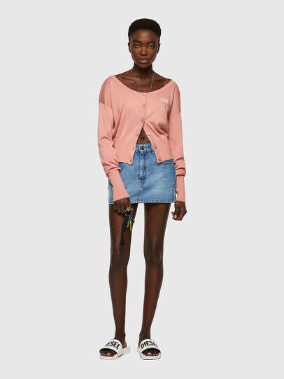 Diesel - M-COLUMBIA, Pink - Knitwear - Image 4