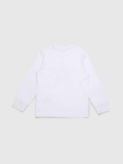Diesel - TDIEGOYH-ML, White - T-shirts and Tops - Image 2