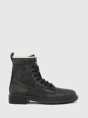 D-THROUPER DBB W, Black - Ankle Boots