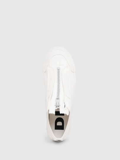 Diesel - S-ASTICO LOW ZIP SP, White - Sneakers - Image 4