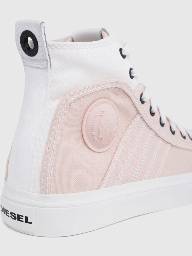 Diesel - S-ASTICO MID LACE W, Pink/White - Sneakers - Image 5